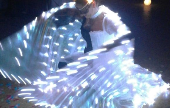 LED-Lichtshow